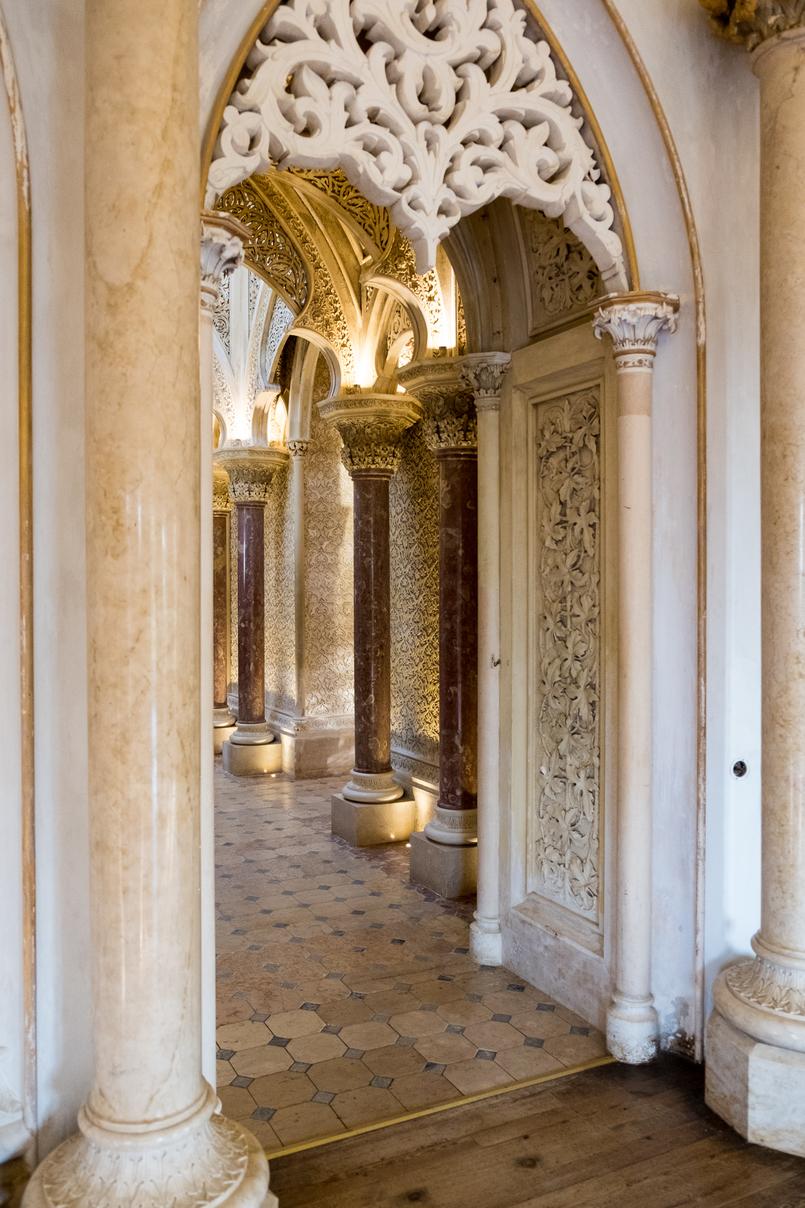 Le Fashionaire Monserrate: um palácio saído de um conto de fadas arcos islamicos palacio monserrate 6154 PT 805x1208