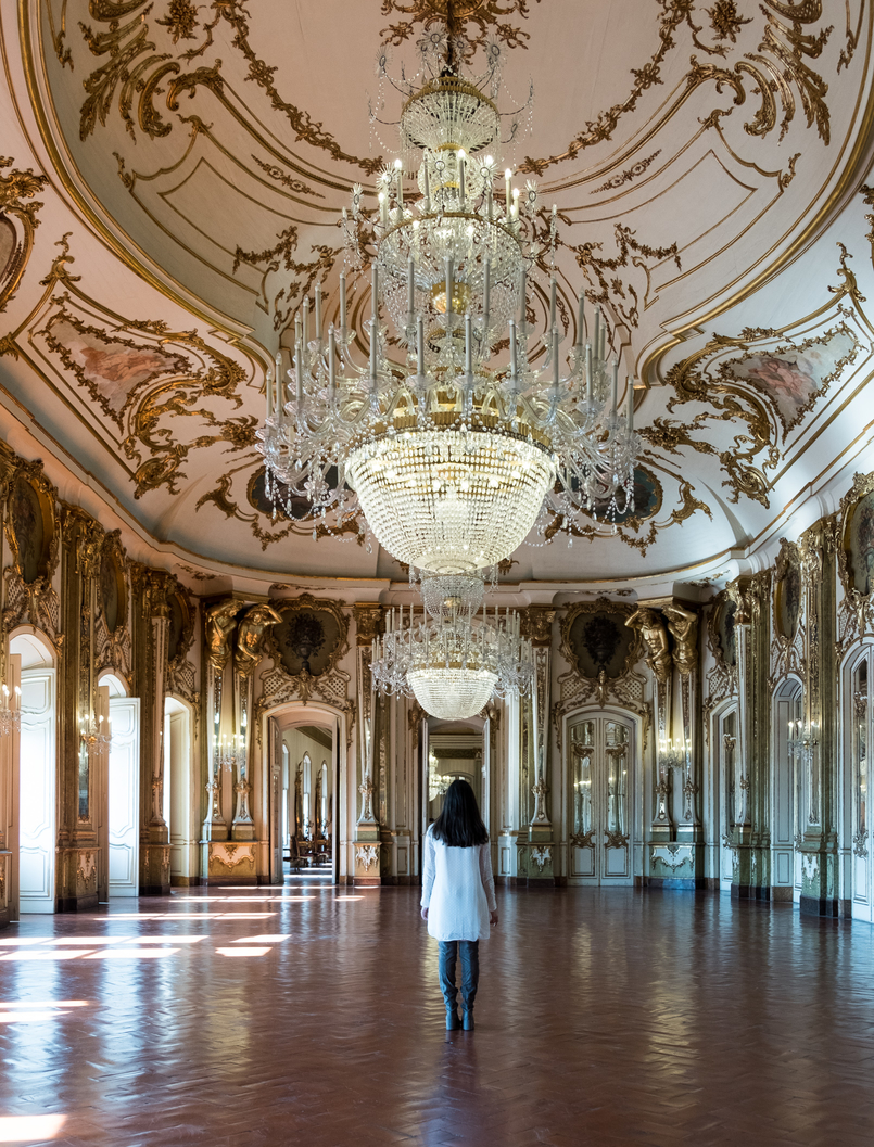 Le Fashionaire Conhecem o Palácio mais bonito do país? candeeiro palacio queluz 5974 PT 805x1057