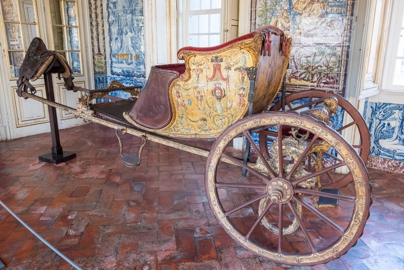 Le Fashionaire Conhecem o Palácio mais bonito do país? carruagem palacio queluz 6016 PT 805x537