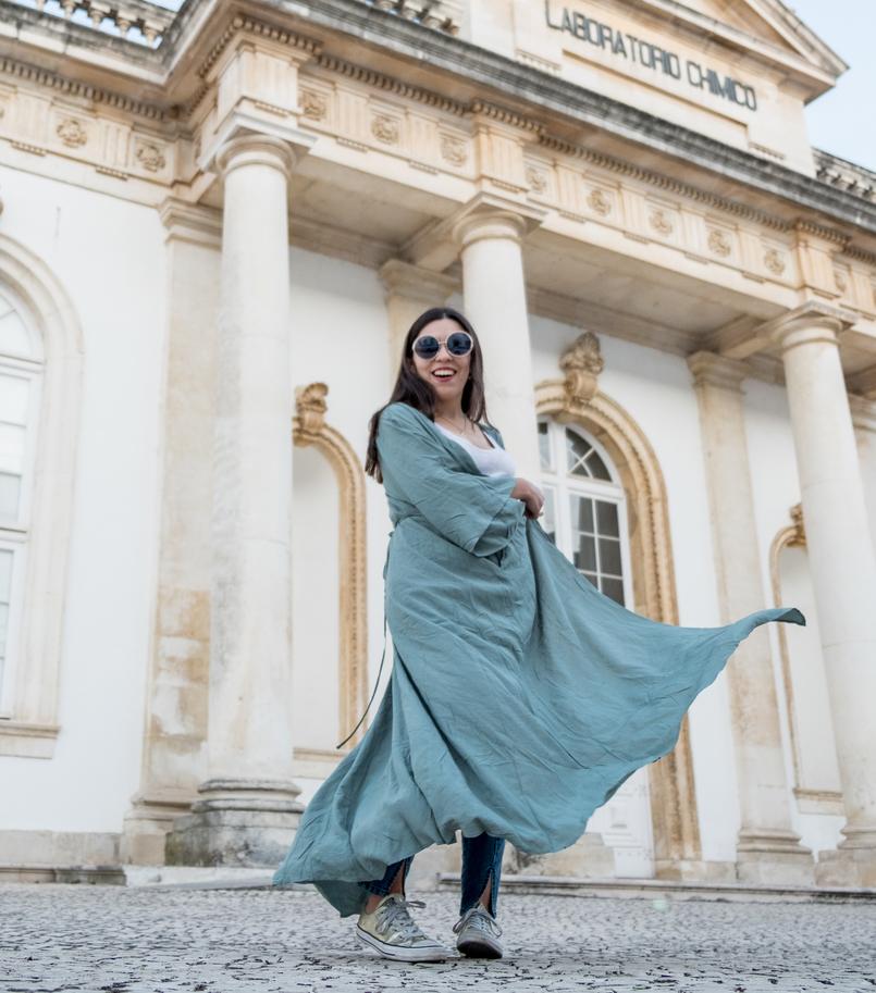 Le Fashionaire Como escolher os jeans perfeitos? casaco verde menta comprido vestido nakd 5538 PT 805x913