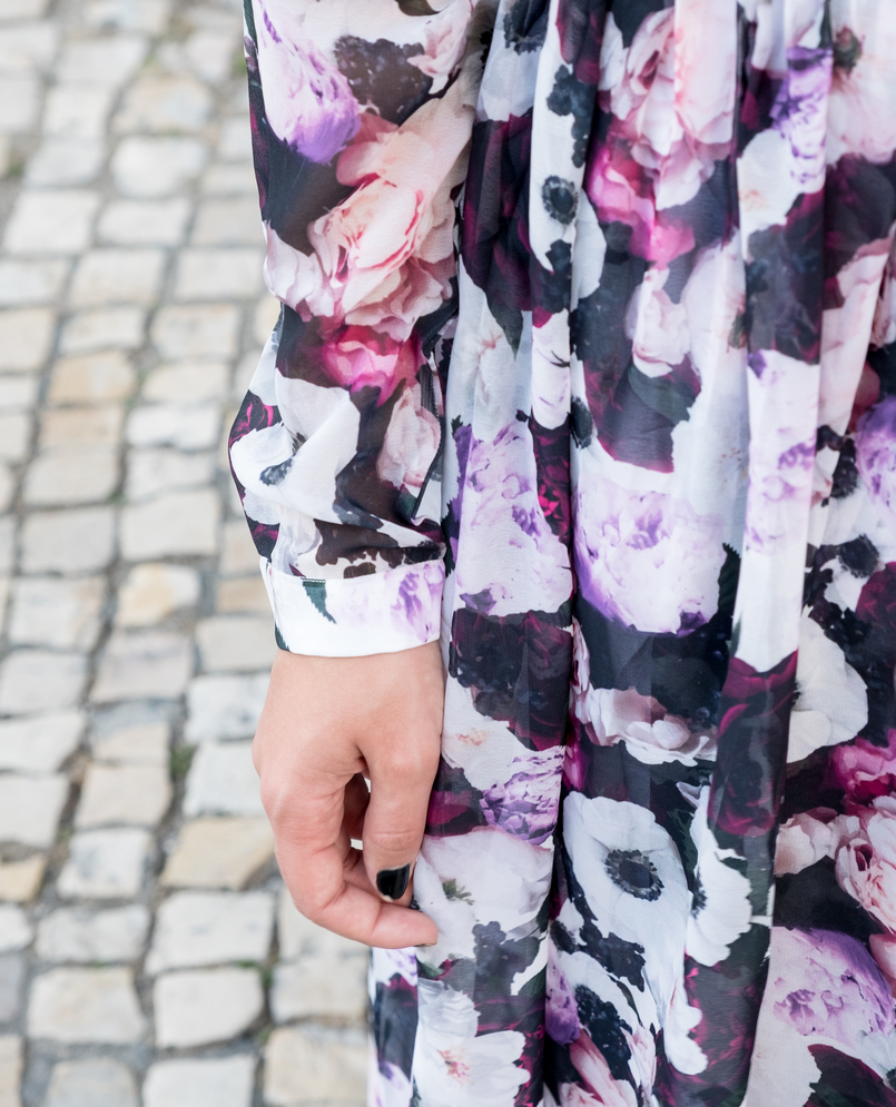 Le Fashionaire Purple is the new black fashion inspiration maxi floral purple nakd dress 5819 EN 805x995