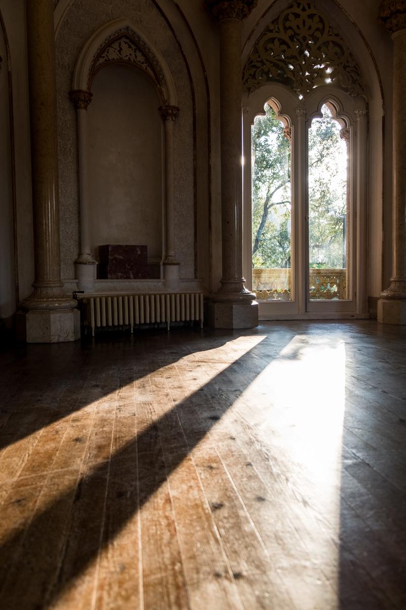 Le Fashionaire Monserrate: um palácio saído de um conto de fadas janela luz sol palacio monserrate 6149 PT 805x1208