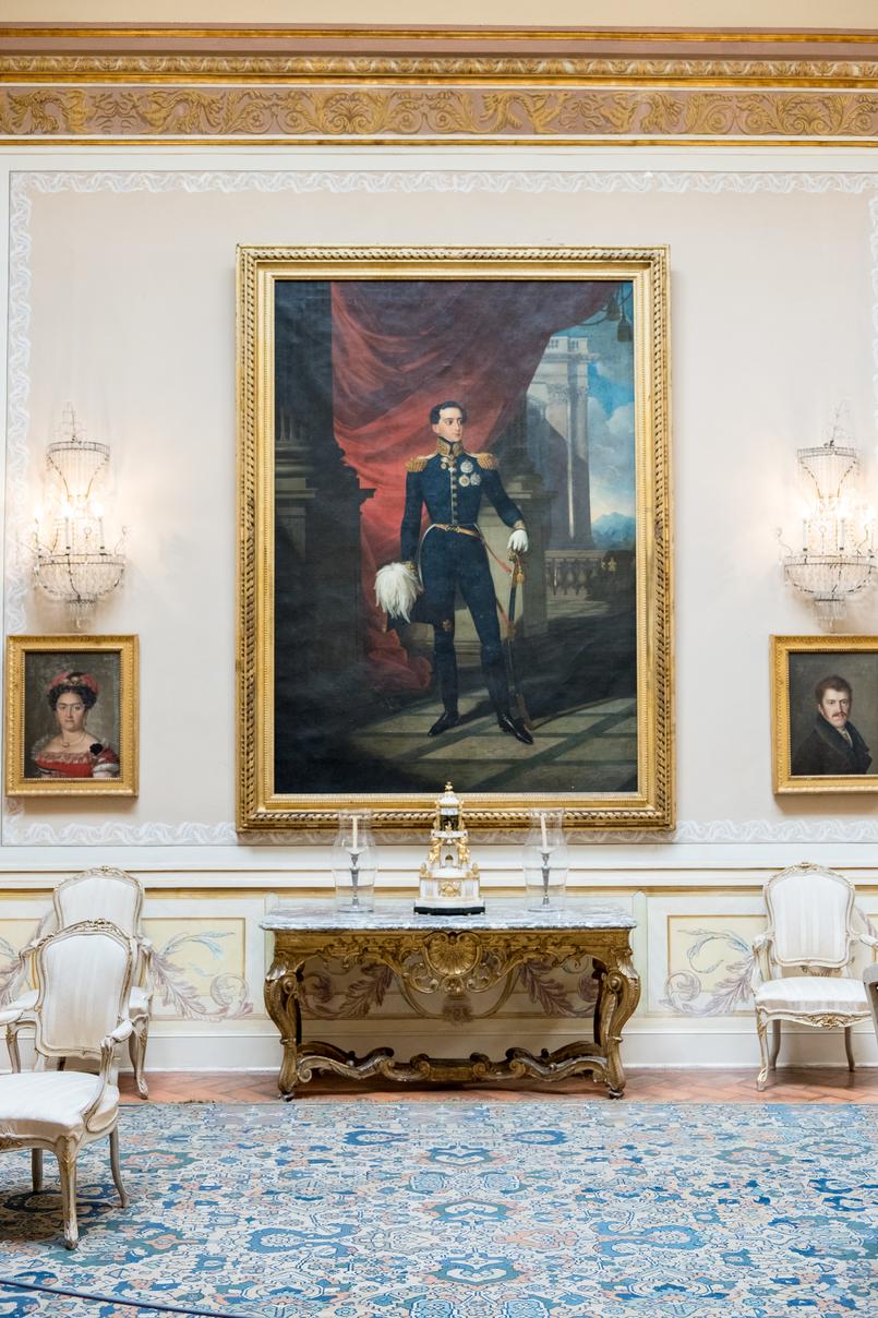 Le Fashionaire Conhecem o Palácio mais bonito do país? palacio queluz salas ornamentadas quadros tapete vermelho 5988 PT 805x1208
