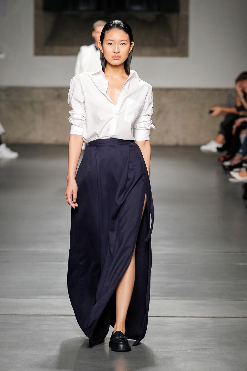 Le Fashionaire Portugal Fashion: My favorite fashion shows portugal fashion julio torcato pinstripes black white suit JulioTorcato 022 EN 805x1208