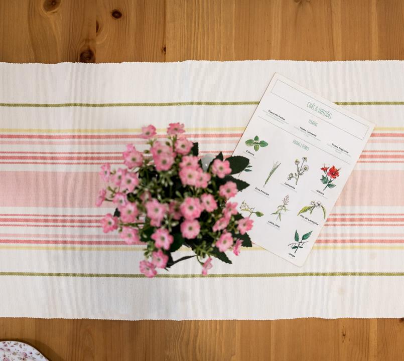 Le Fashionaire Mil Folhas: querem lanchar numa casa de bonecas? marcador mesa flores rosa confeitaria mil folhas verde branco 1995 PT 805x720