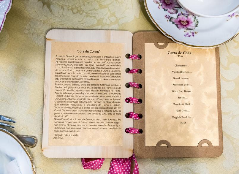 Le Fashionaire Jóia da Coroa: Fui tomar chá com a Rainha D. Amélia menu dourado carta chas historia joia coroa salao cha rua flores opulencia 2630 PT 805x586