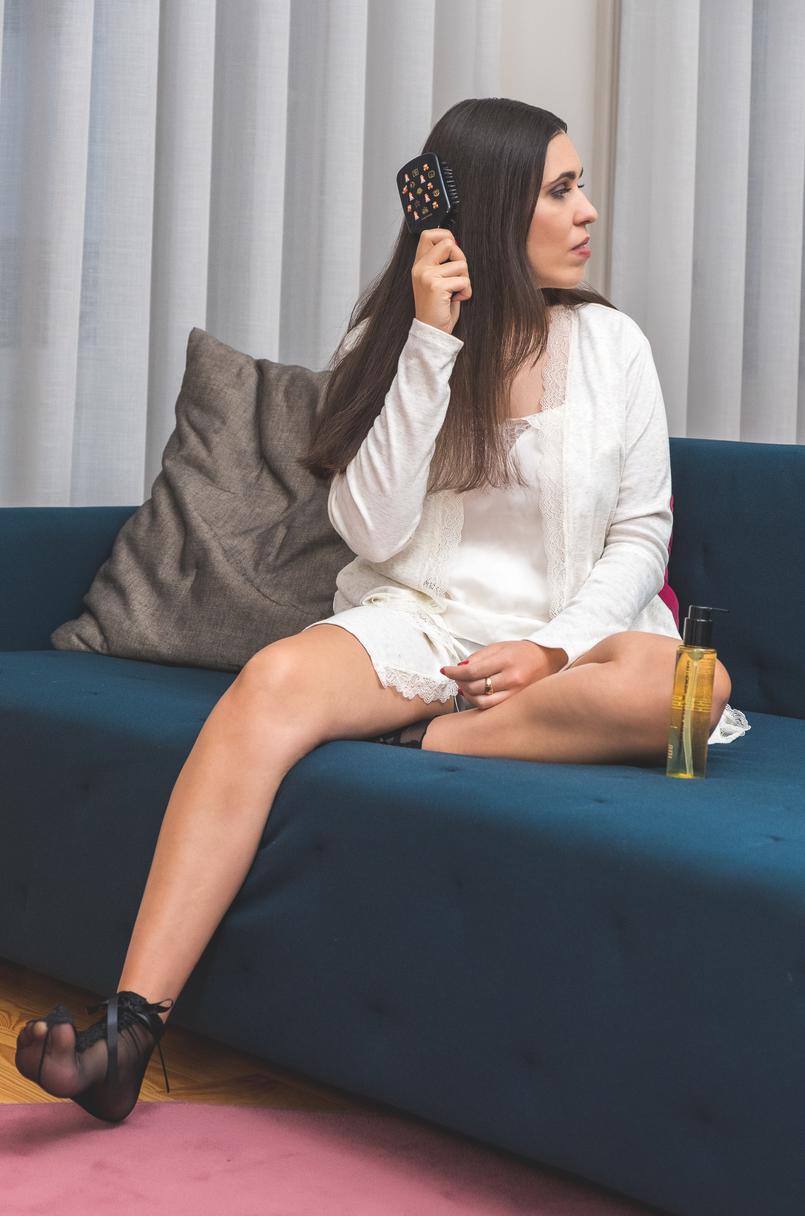 Le Fashionaire Shu Uemura X Super Mario: O segredo para um cabelo bonito pijama branco renda womens secret oleo absolue oil shu uemura super mario escova preta super mario cerdas javali 1146 PT 805x1216