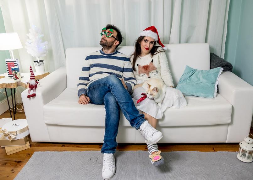 Le Fashionaire Feliz Natal! calcas ganga kiko gato fofinho laco vermelho cetim camisola felpuda raposa zara kids saia princesa glitter rodada zara oculos verdes renas 4511 PT 805x575