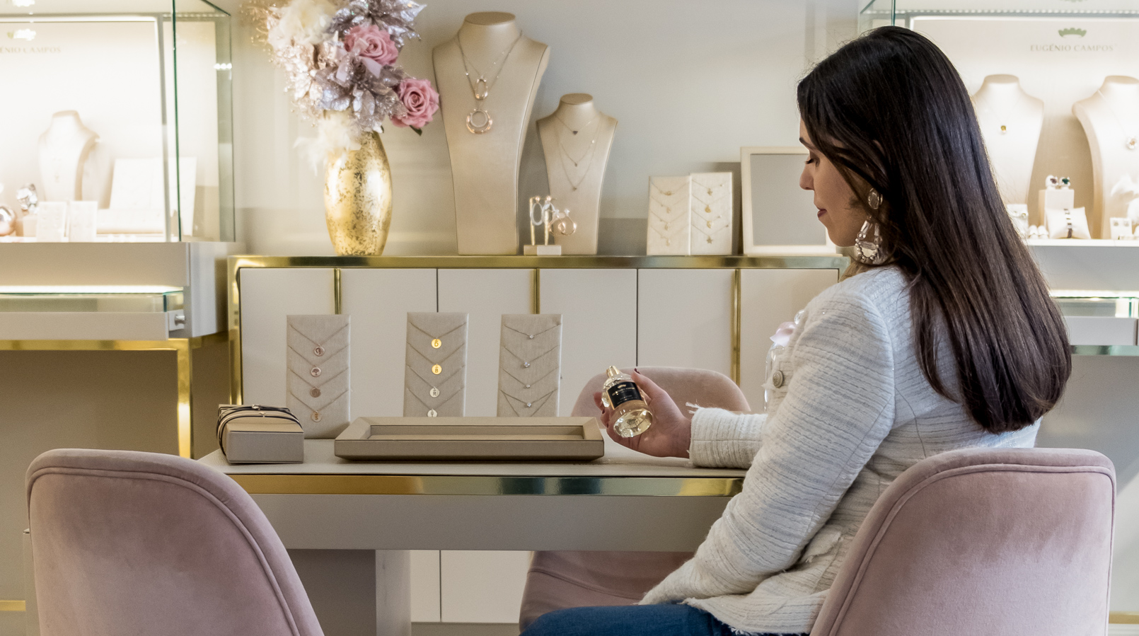 Le Fashionaire Eugénio Campos: as jóias que contam histórias eugenio campos joias loja casaco branco tweed zara 3990F PT
