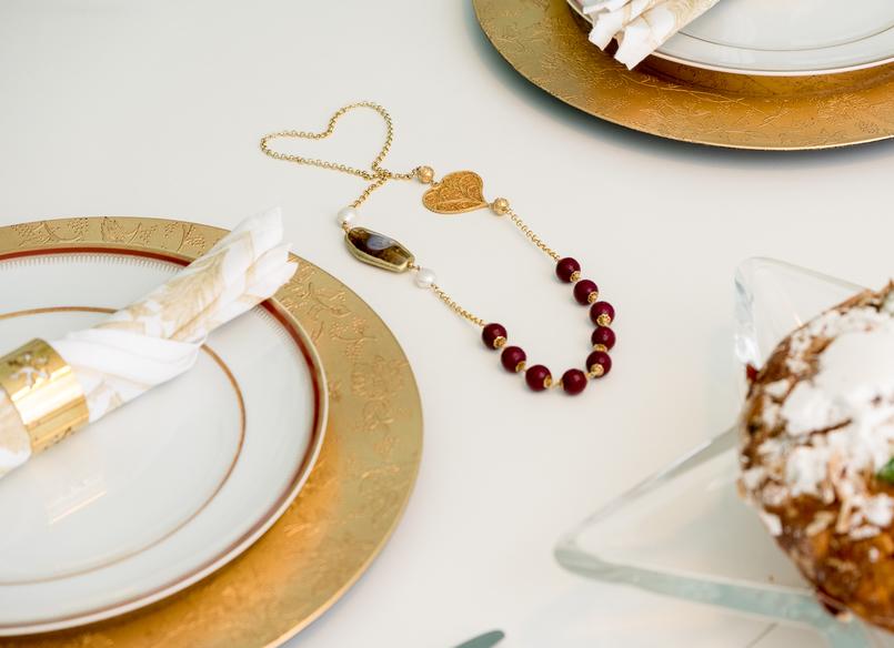 Le Fashionaire Sugestões de presentes de natal: Jóias filigrana coracao pedras vermelhas colar 4137 PT 805x584