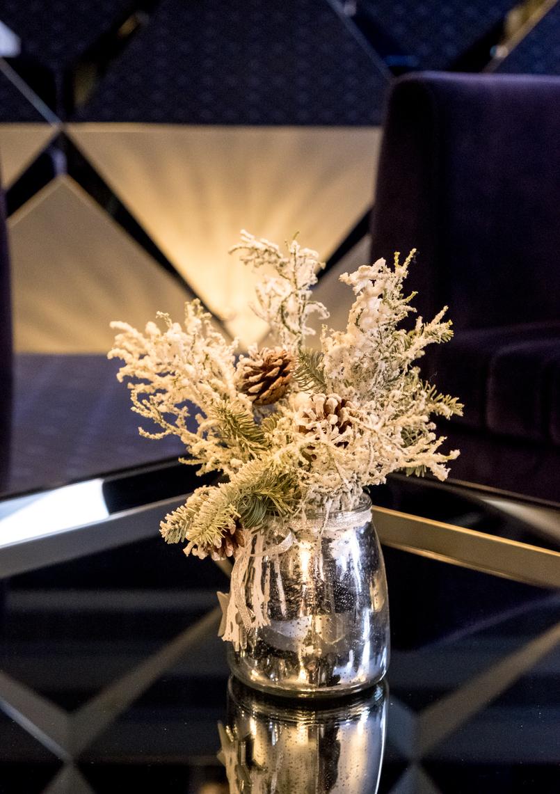 Le Fashionaire Encontrei o Cristal no coração do Porto hotel cristal porto arranjo natal 3929 PT 805x1141
