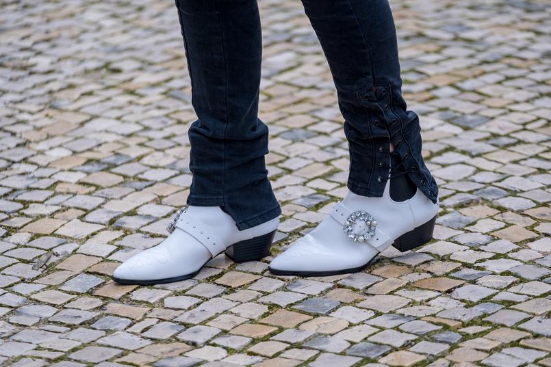 Le Fashionaire Comprei umas botas à cowboy: e agora? calcas pretas skinny zara botas brancas cowboy stradivarius 9872 PT 805x537