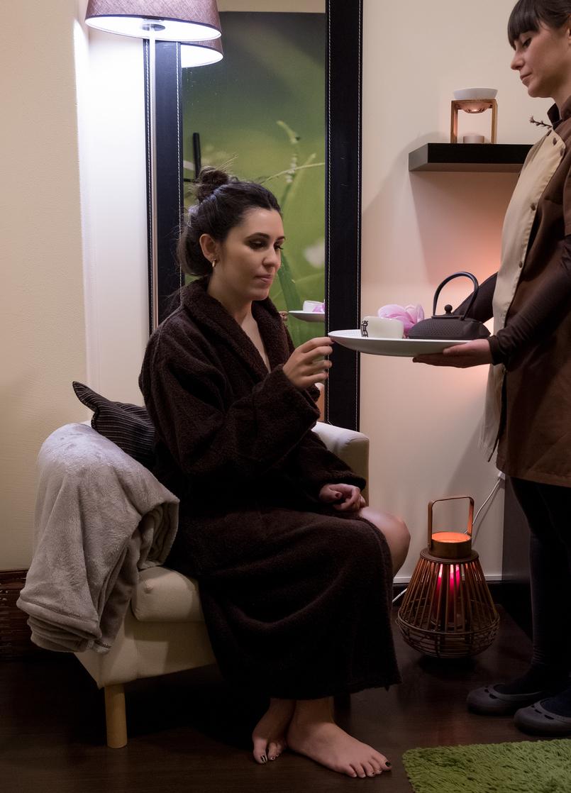 Le Fashionaire Indigo Spa: onde relaxar é a palavra de ordem indigo spa coimbra cha relaxamento roupao catarine martins 1674 PT 805x1118