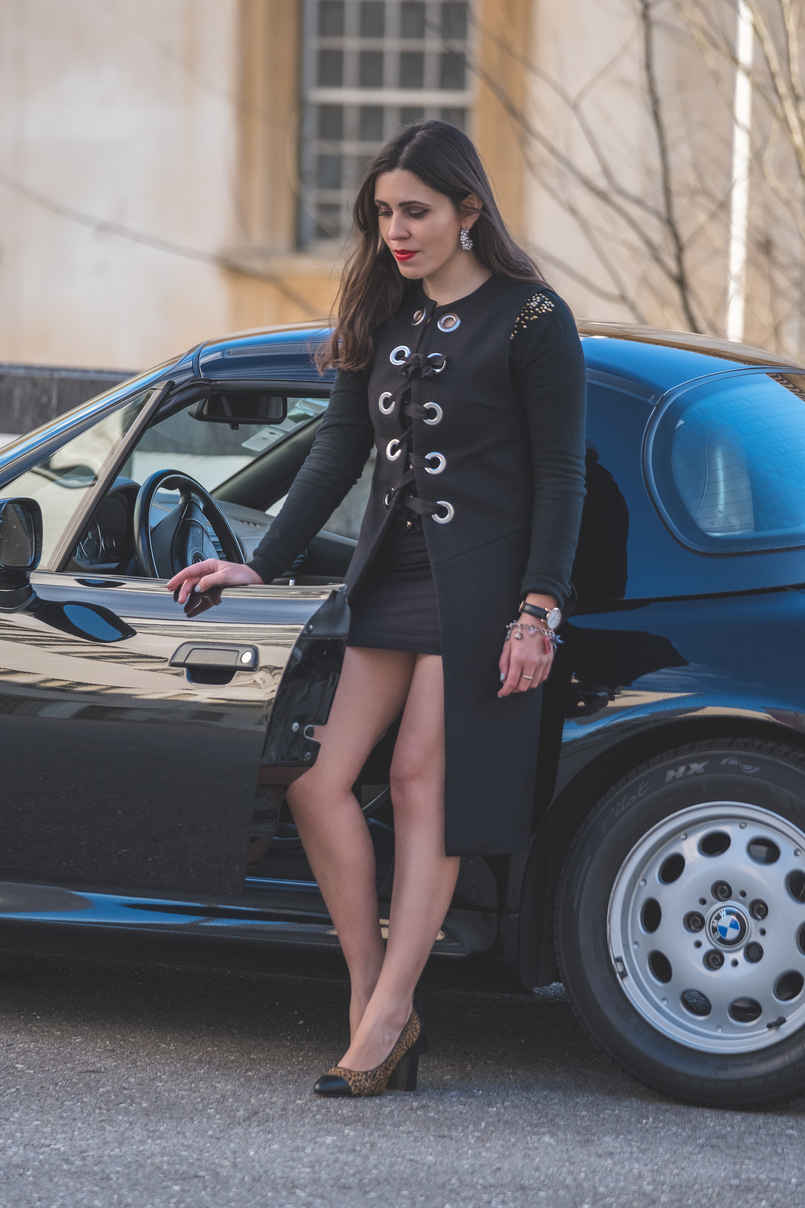 Le Fashionaire Giveaway: enter and win a pair of Dário Madeira leather shoes leopard dario madeira leather fur shoes zara black wool eyelets vest killah black dress bmw z3 0085 EN 805x1208