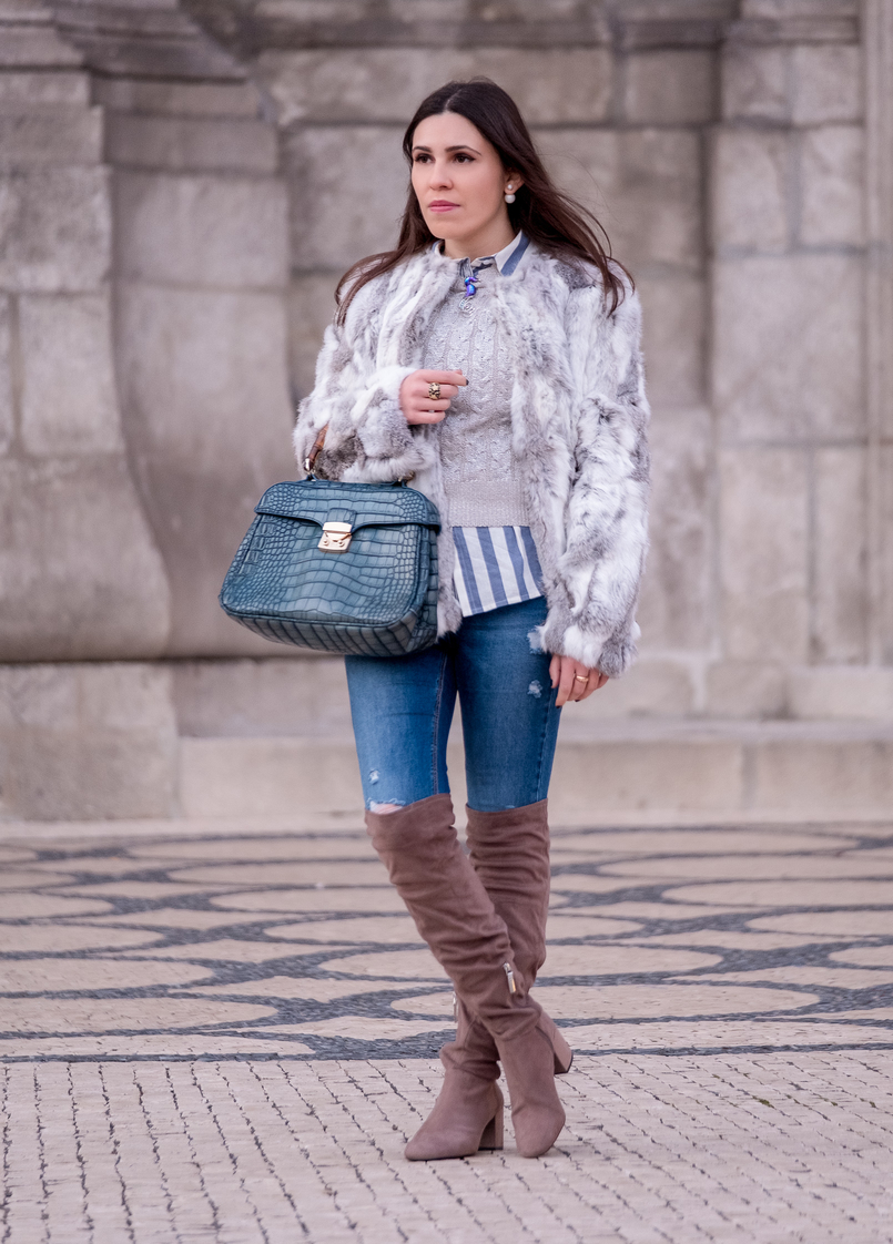 Le Fashionaire Brooches: are them an old women accessory? silver cable knit mango over knee gray suede bershka boots bamboo fake leather blue croc lanidor bag 1112 EN 805x1122