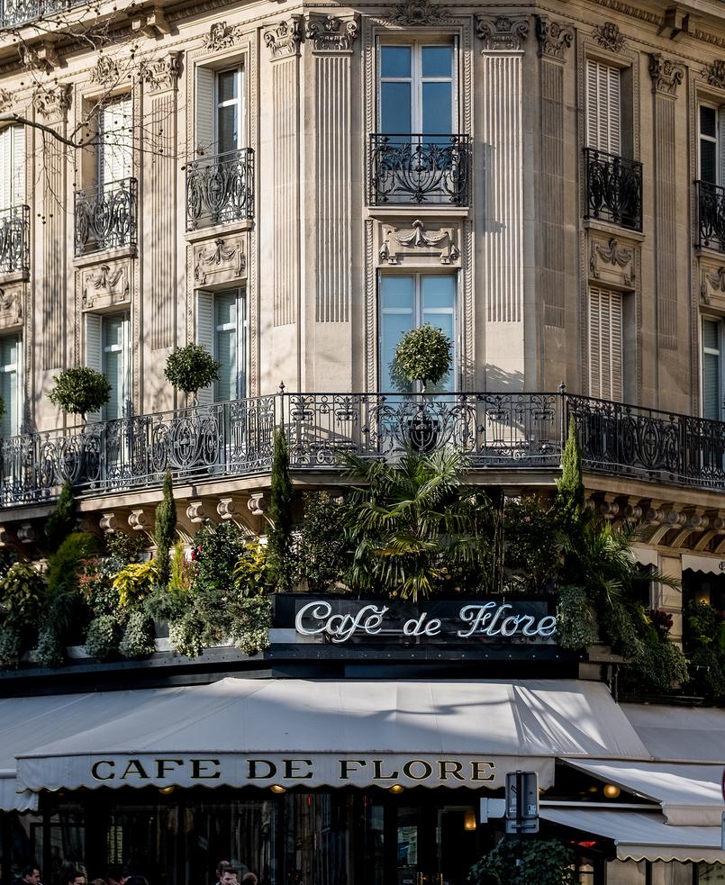 Le Fashionaire My parisian berets in Paris cafe%CC%81 del flore paris france 3777 EN 805x983