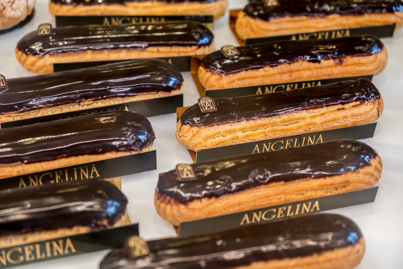 Le Fashionaire 5 must go places in Paris chocolate eclairs angelina 3091 EN 805x537