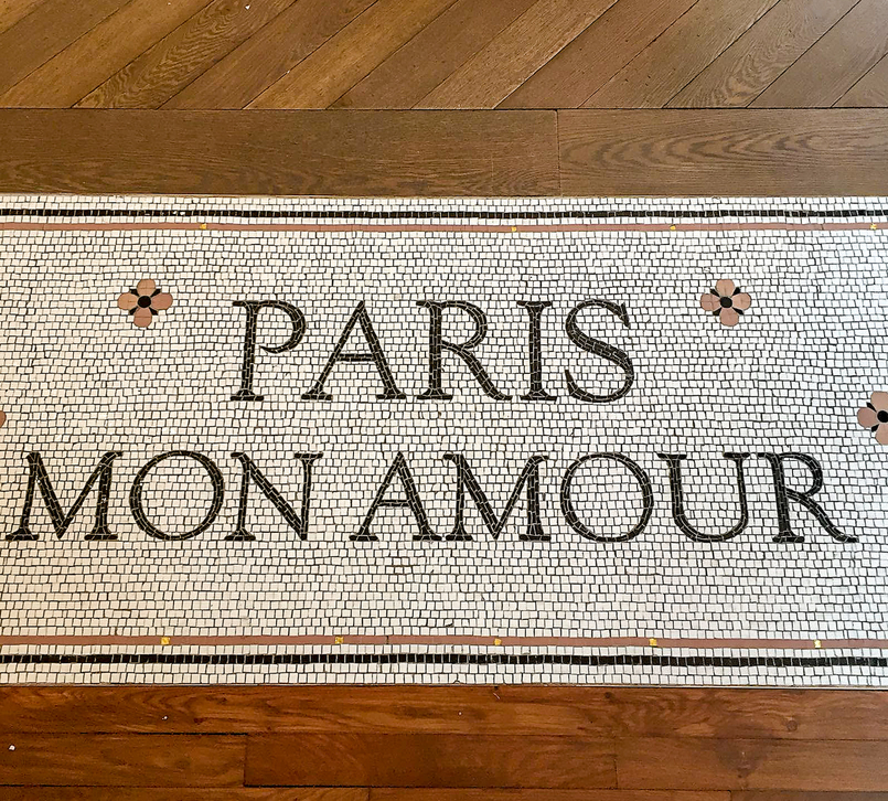 Le Fashionaire 5 must go places in Paris floor paris mon amour sezane 1111 EN 805x726