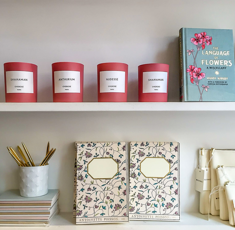 Le Fashionaire 5 sítios imperdíveis em Paris livro velas rosa sezane 2222 PT 805x786