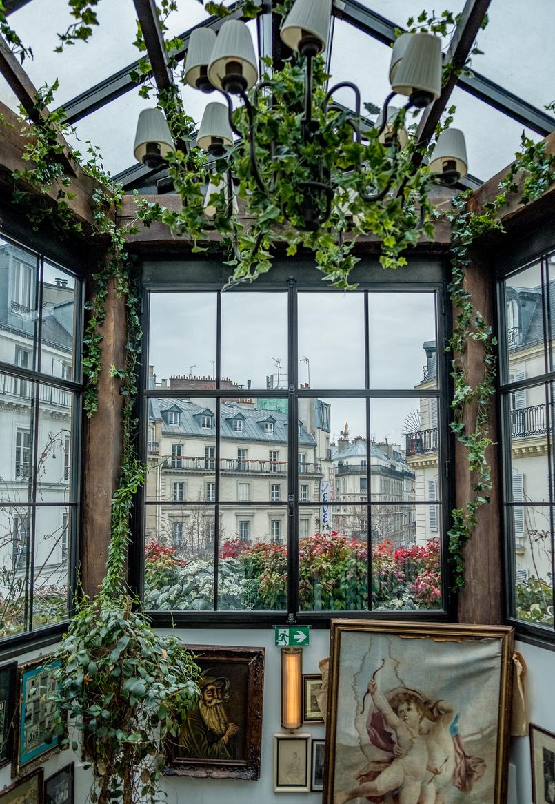 Le Fashionaire Paris: Passeio por Montmartre e almoço no Pink Mamma quadros vintage decoracao pink mamma restaurante 2734 PT 805x1167