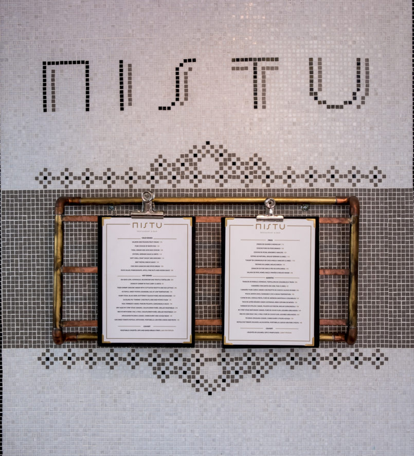 Le Fashionaire Mistu: the new restaurant in downtown Porto you need to know menu mistu restaurant oporto 6743 EN 805x888