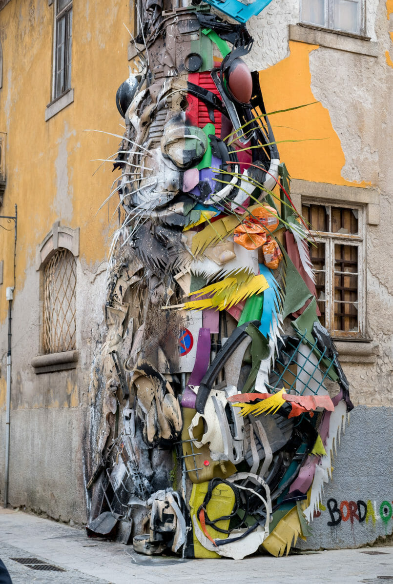 Le Fashionaire You need to know this street art rabbit gaia rabbit street art bordalo II 9066 EN 805x1197