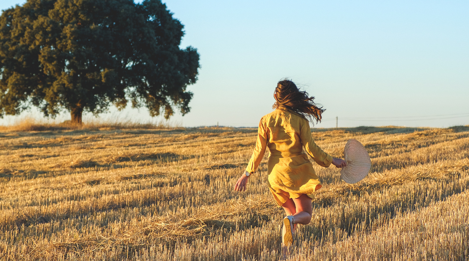 Le Fashionaire Alentejo makes me feel free linen yellow zara dress alentejo Cork oak beautiful field 3768F EN