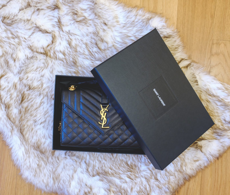 Le Fashionaire Is it worth it buying a Saint Laurent bag? ysl saint laurent black gold chain hardware luxury bag closet 4409 EN 805x682