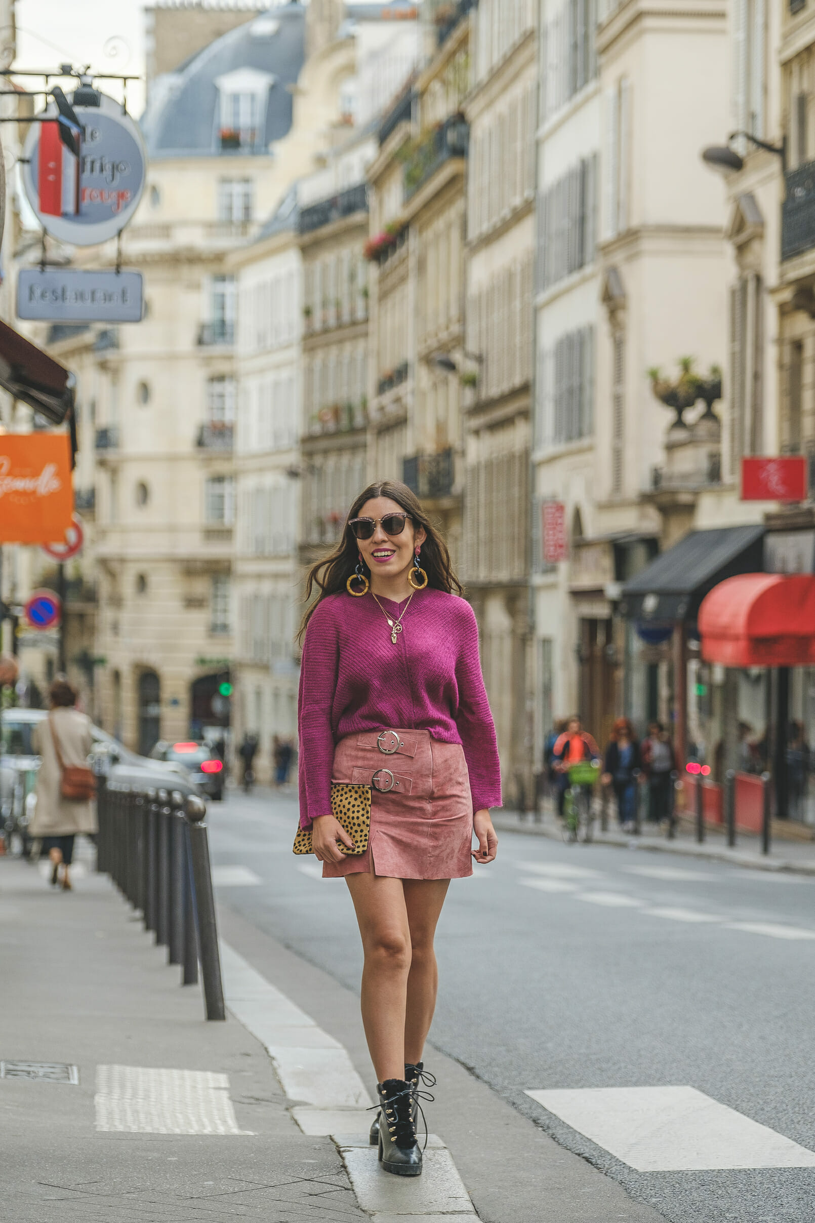 Le Fashionaire purple mohair mango knit pale pink leather buckles skirt black military stradivarius leather boots miu miu grey pink sunglasses 9048 EN purple mohair mango knit pale pink leather buckles skirt black military stradivarius leather boots miu miu grey pink sunglasses 9048 EN