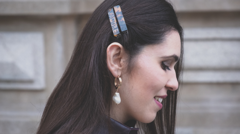 Le Fashionaire Where to find the coolest hair clips hairclips brown jadore asos pearl mango earrings 6047F EN 805x450