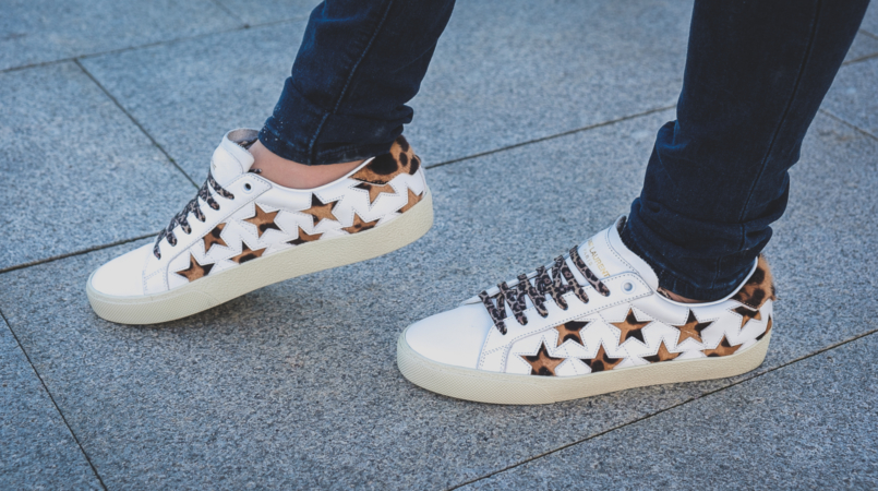 Le Fashionaire Is it worth it buying Saint Laurent Sneakers? white stars leopard saint laurent leather sneakers 5024F EN 805x450