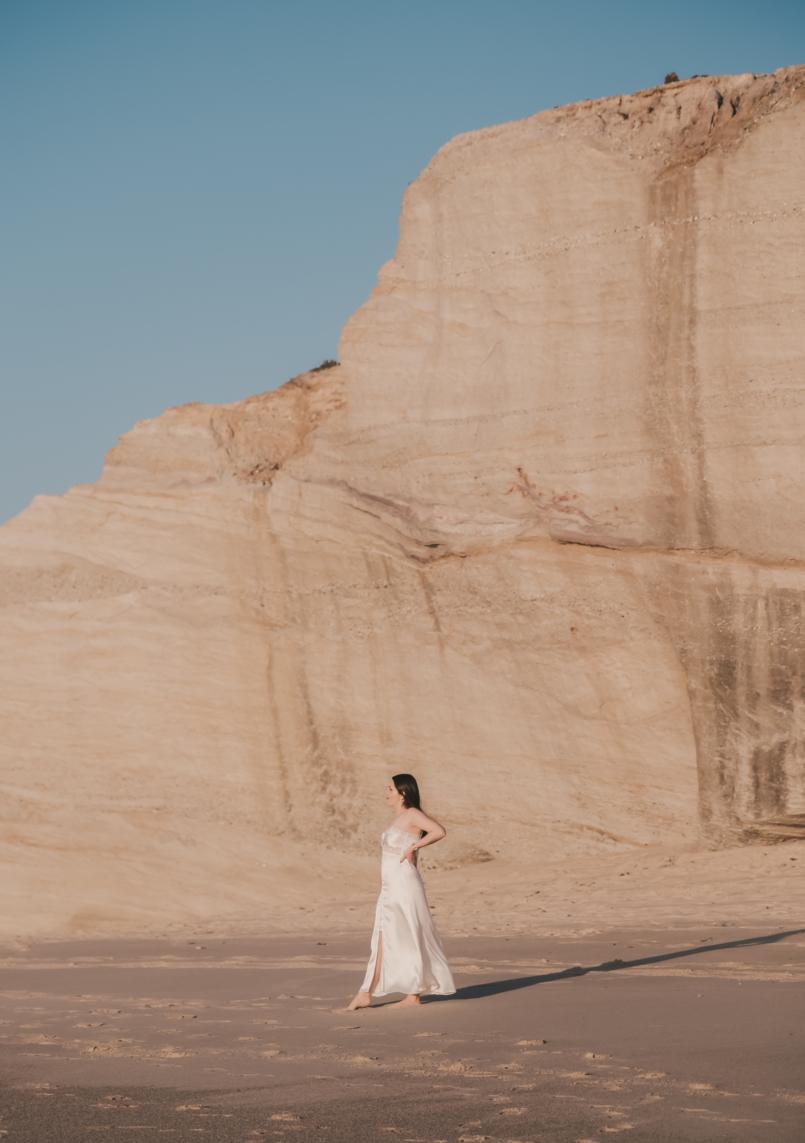 Le Fashionaire Personal: I find peace on solitude satin white lace detail lingerie zara beach 8449 EN 805x1143